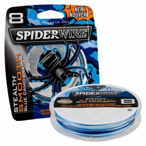 Spiderwire Stealth Smooth 8 Camo Blue