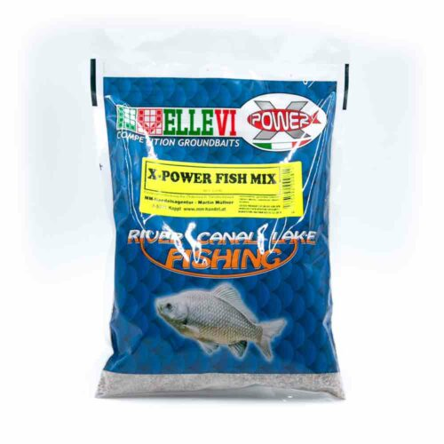 Ellevi X-Power Groundbait Fish Mix