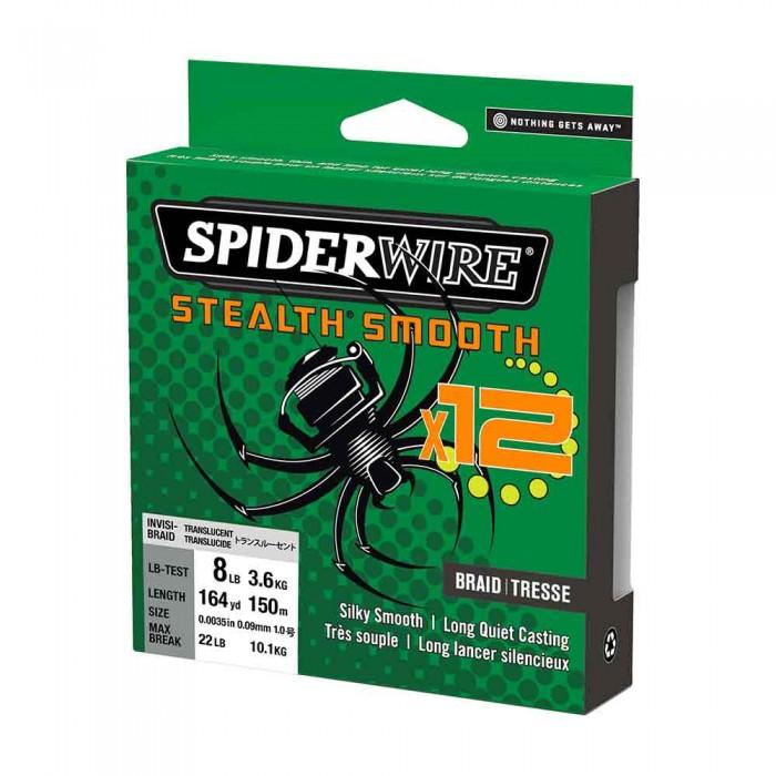 Spiderwire Stealth Smooth 12Braid Translucent