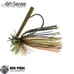 6th Sense Fishing BallHead Finesse Jig Camo Craw