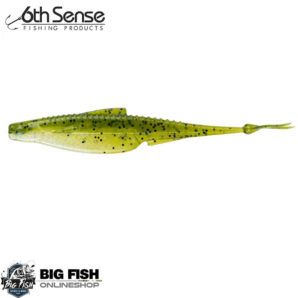 6th Sense Flush Soft Jerkbait Watermelon Gill