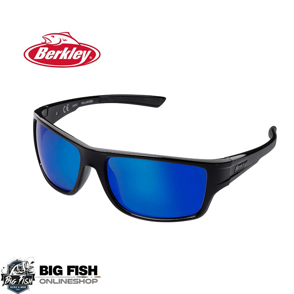 Berkley B11 Sunglasses Black_Gray_Blue Revo