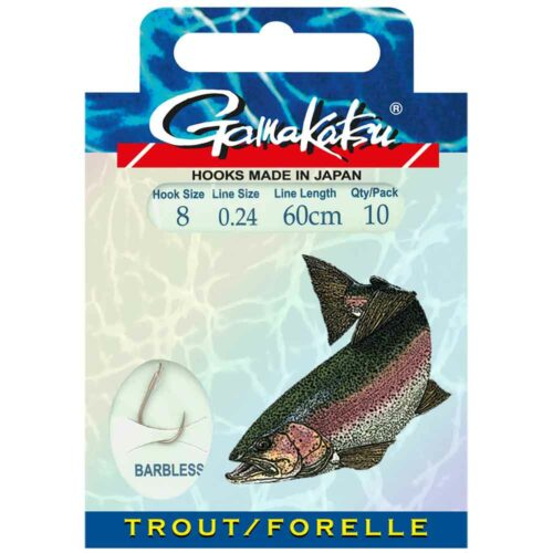 Gamakatsu BKD-2210R Forelle Barbless
