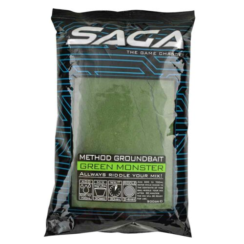 SAGA Method Groundbait Green Monster