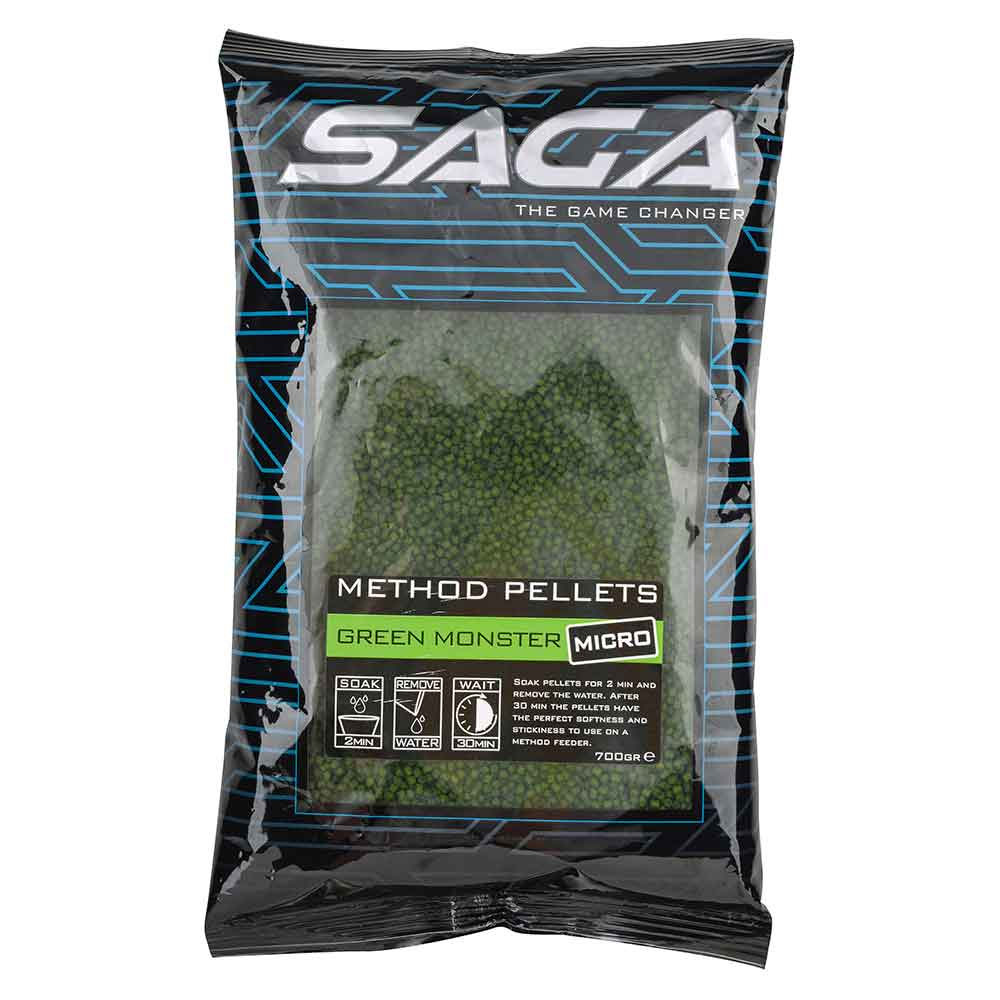 SAGA Methode Pellets Micro Green Monster