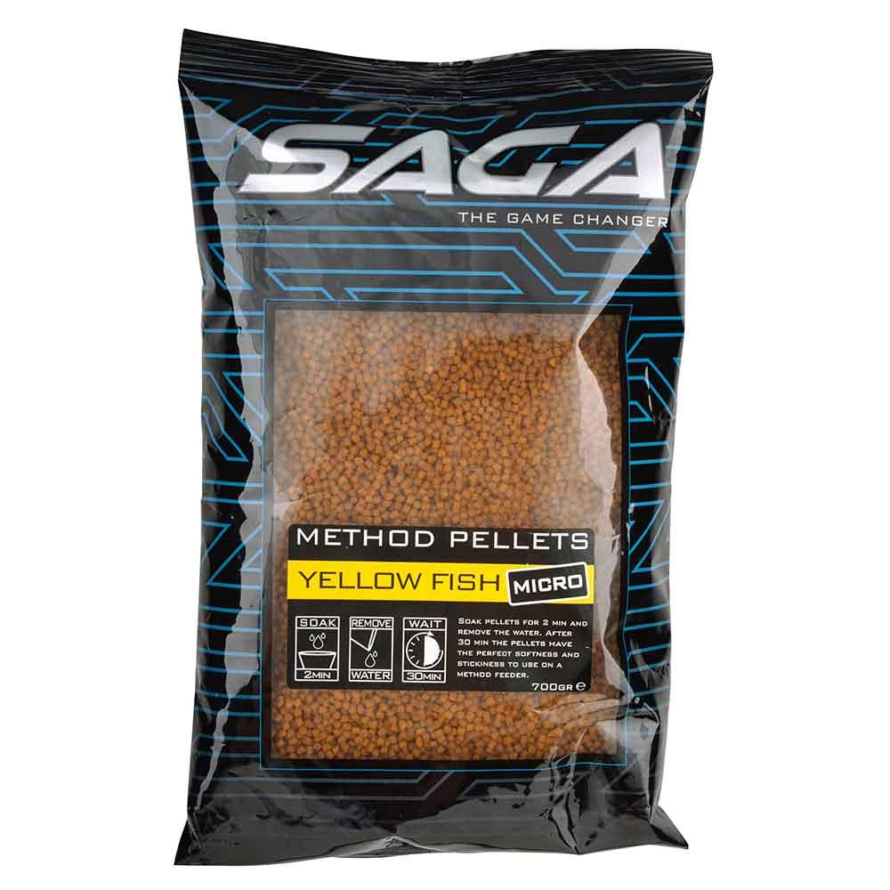 SAGA Method Pellets Micro Yellow Fish