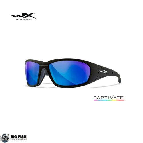 Wiley X Boss Captivate Blue Mirror